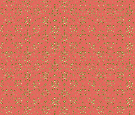 honeysuckle damask fabric by colie*leigh*designs on Spoonflower - custom fabric