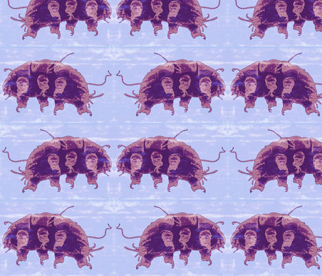 Water Bear fabric by robin_rice on Spoonflower - custom fabric