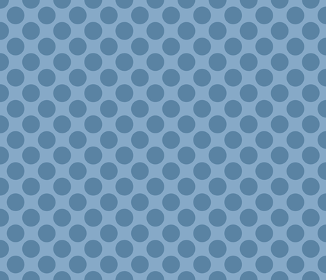 Sleepy_Baby_Boy_Polkadots fabric by jpdesigns on Spoonflower - custom fabric