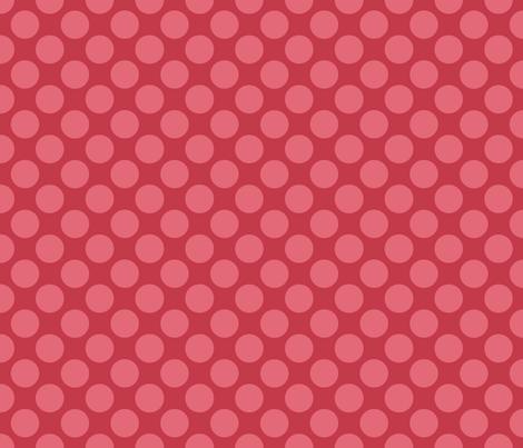 Sleepy_Baby_Girl_Polkadots fabric by jpdesigns on Spoonflower - custom fabric