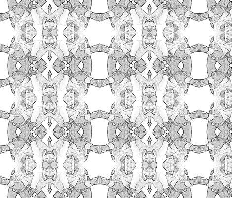 I Hit Girls For Fun fabric by apagog on Spoonflower - custom fabric