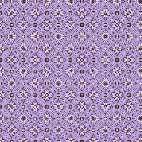 Gloria's Curlflower fabric by siya on Spoonflower - custom fabric