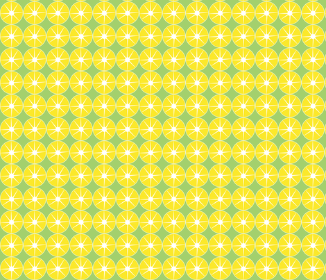 green_lemonade fabric by studio30 on Spoonflower - custom fabric