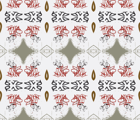 Reading You Loud and Clear- white background fabric by susaninparis on Spoonflower - custom fabric