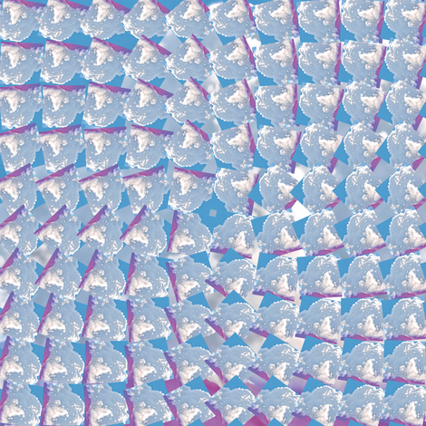 Spinning Clouds, S fabric by animotaxis on Spoonflower - custom fabric