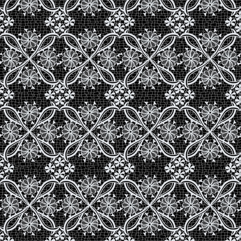 Dark Lace fabric by ladyfayne on Spoonflower - custom fabric