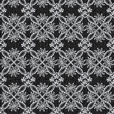Dark Lace fabric by ladyfayne on Spoonflower - custom fabric