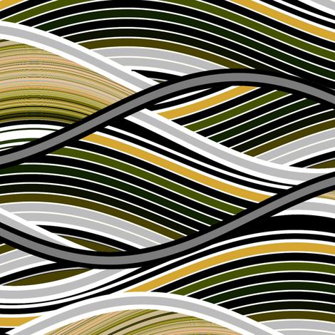 Organic Wave fabric by joanmclemore on Spoonflower - custom fabric