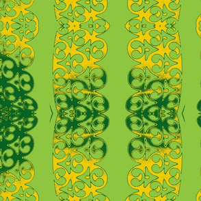 Garland yellow green