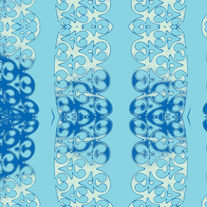garland turquise light blue