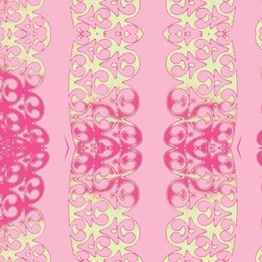 garland rosa pink