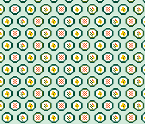 DigitalSushi1 fabric by kimnb on Spoonflower - custom fabric