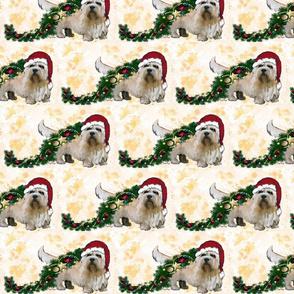 Dandie Dinmont Christmas