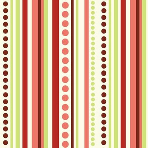 Sweet Tweets Stripes