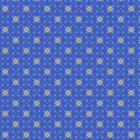 Sabini's Starry Night fabric by siya on Spoonflower - custom fabric