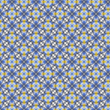 Sabini's Tiles fabric by siya on Spoonflower - custom fabric