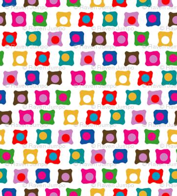 Alphabuds Teeny Squares, White