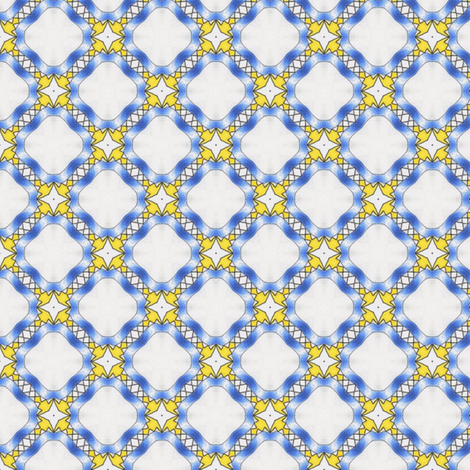 Sabini's Starnet fabric by siya on Spoonflower - custom fabric