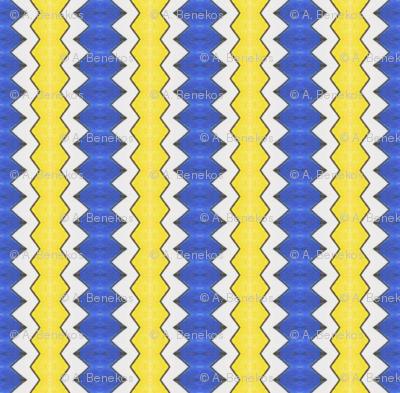 Sabini's Jagged Stripe