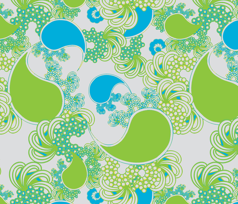 Island Paisley fabric by joanmclemore on Spoonflower - custom fabric