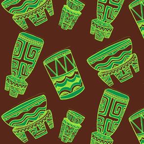 Tahitian drums, suave