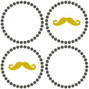 Mustache Playful - Large