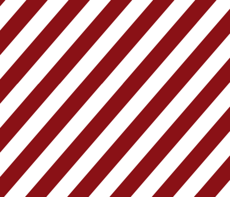 Diagonal red and white stripes. fabric by graphicdoodles on Spoonflower - custom fabric
