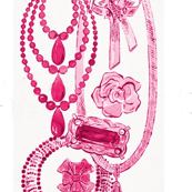 Andy_Warhol_necklaces_and_pins_circa_1959_modified_pink_coloured