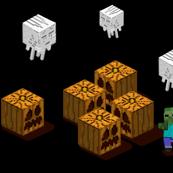 Minecraft Style Halloween
