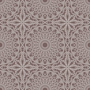 Crocheted Lace - Steel Grey