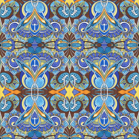 The Roaring Twenties fabric by edsel2084 on Spoonflower - custom fabric