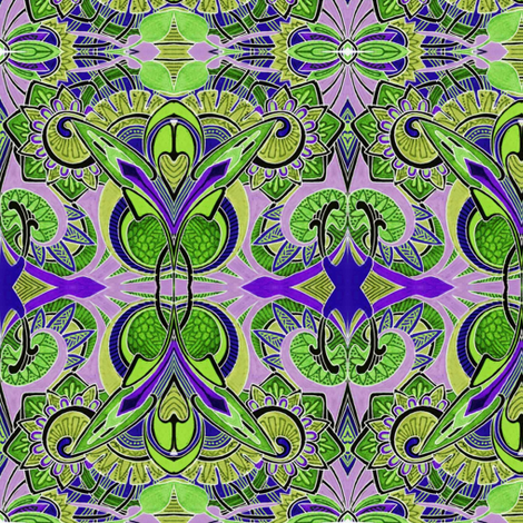 Because Little Girls Believe in Fairies (olive) fabric by edsel2084 on Spoonflower - custom fabric