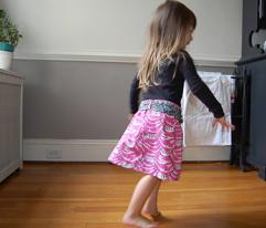 modern scarlett skirt