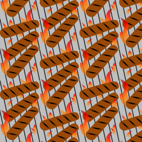 Heatin' Up fabric by lowa84 on Spoonflower - custom fabric