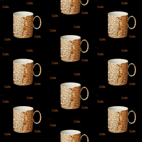 cafe fabric by whotookmyname on Spoonflower - custom fabric