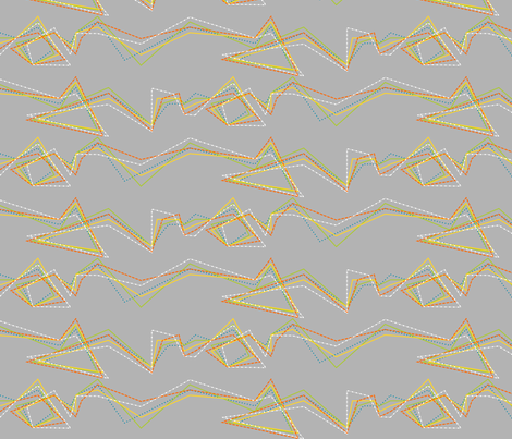 Lines on a Wall fabric by mayabella on Spoonflower - custom fabric