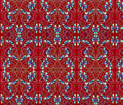 Confused Moth Flight Patterns fabric by robin_rice on Spoonflower - custom fabric