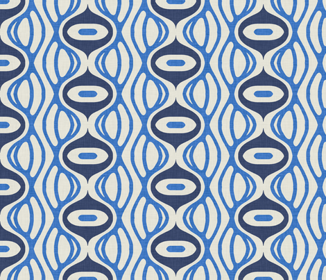 raining_linen fabric by holli_zollinger on Spoonflower - custom fabric