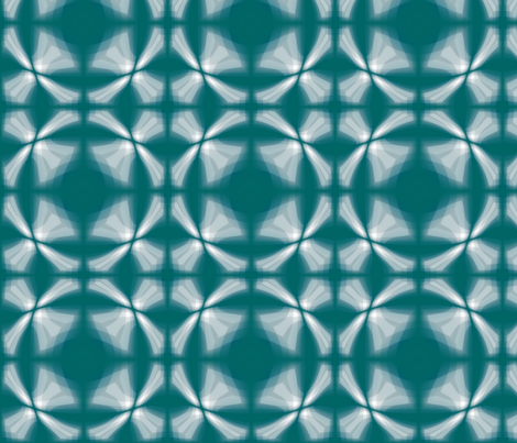Brick_Teal_Window_Brick fabric by pd_frasure on Spoonflower - custom fabric