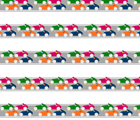 cars fabric by amybethunephotography on Spoonflower - custom fabric