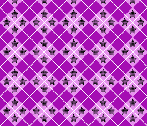 Roller Derby Messy Plaid fabric by enidk on Spoonflower - custom fabric
