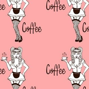 Coffee Pinup Pink
