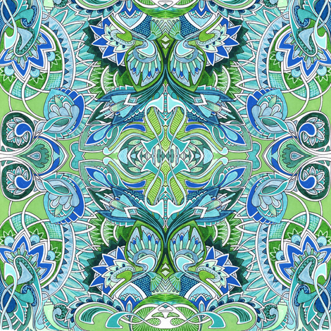 Orna-Mental fabric by edsel2084 on Spoonflower - custom fabric