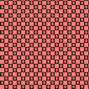 Coffee Checker Pink