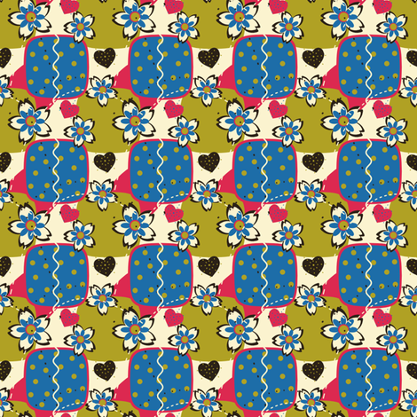 Trendy Quilt I fabric by eppiepeppercorn on Spoonflower - custom fabric
