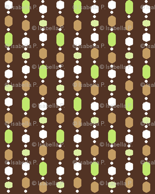 Bead Curtain - Coffee