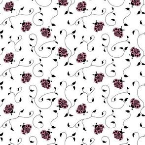 Lady Zebra, Tiny Fabric Repeat