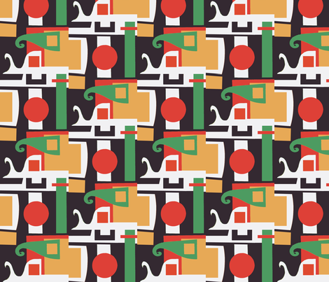 Staplers fabric by boris_thumbkin on Spoonflower - custom fabric