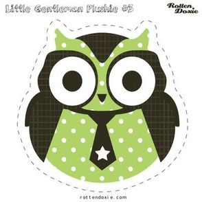 Owl Plushie #3