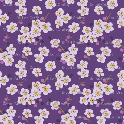 pear blossom purple